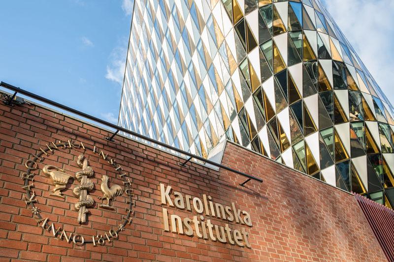Karolinska Institutet med Aula Medica. Foto: KI.