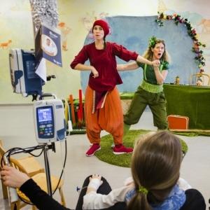 Kulturupplevelse på sjukhus Foto: Anna Molander