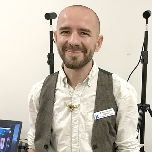VR-pedagog Daniel Kemppi