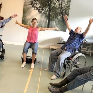 Dans på Handengeriatriken